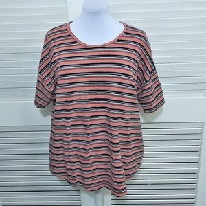Madewell Short Sleeved Striped Tee Size 2X